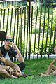 heidi klum martin kirsten take the kids to the park 19