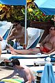 megan hilty cuddling with shirtless brian gallagher in hawaii 11