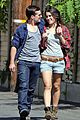 josh hutcherson claudia traisac kiss after motorcycle ride 12