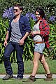 josh hutcherson claudia traisac kiss after motorcycle ride 19