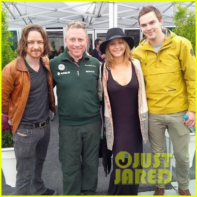 jennifer lawrence nicholas hoult canadian grand prix 032888292
