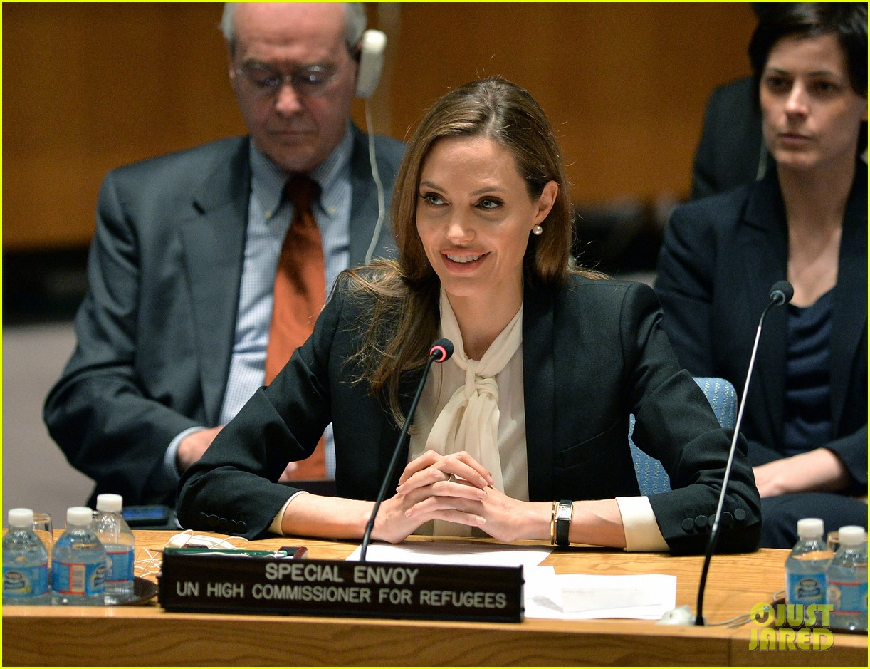angelina jolie united nations security council meeting 01
