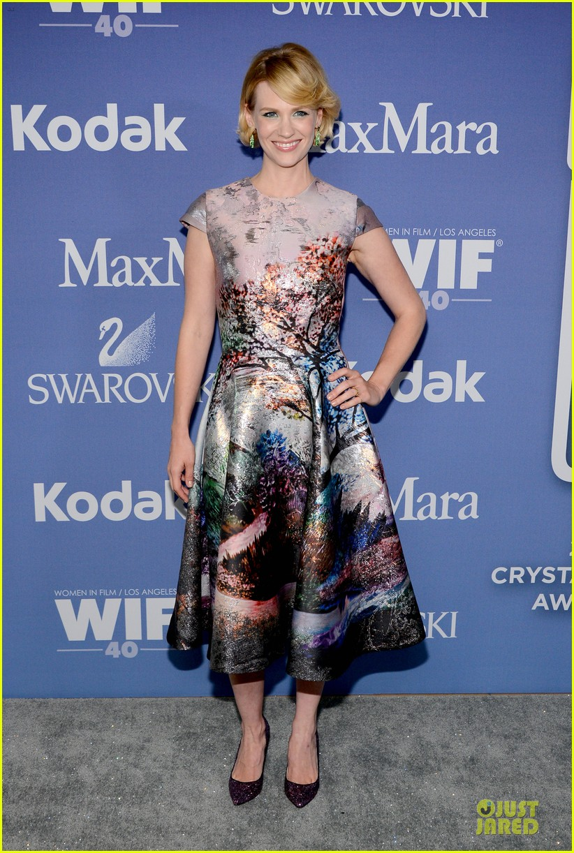 january jones elisabeth moss crystal lucy awards 2013 red carpet 12