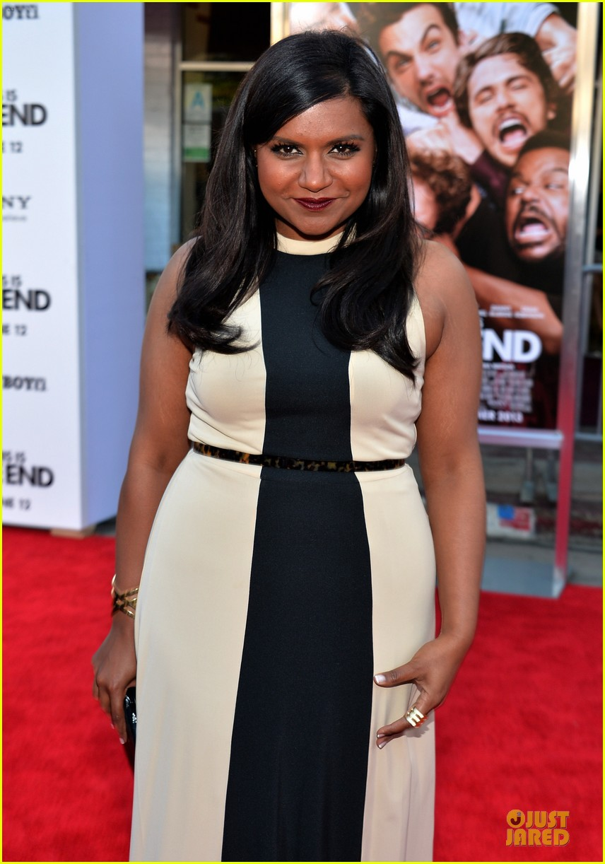 mindy kaling jessica shozr this is the end premiere 06