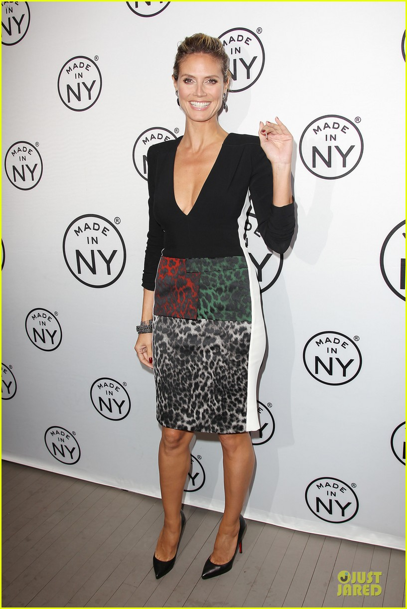 heidi klum made in ny awards honoree 012889599