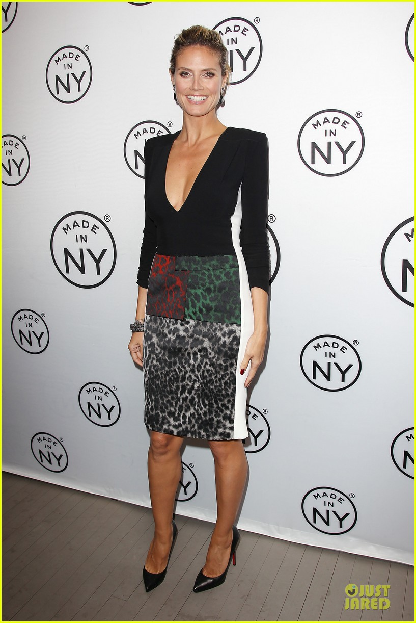 heidi klum made in ny awards honoree 242889622