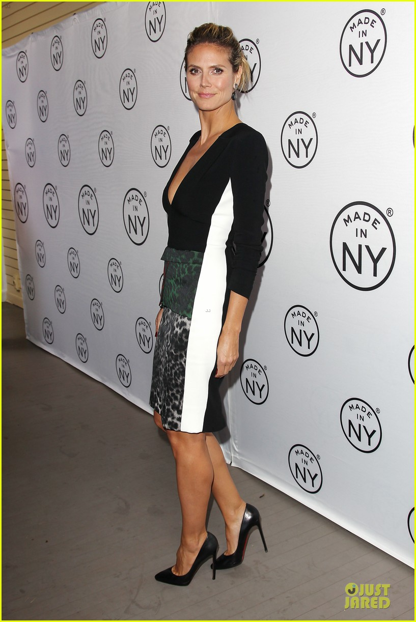 heidi klum made in ny awards honoree 262889624
