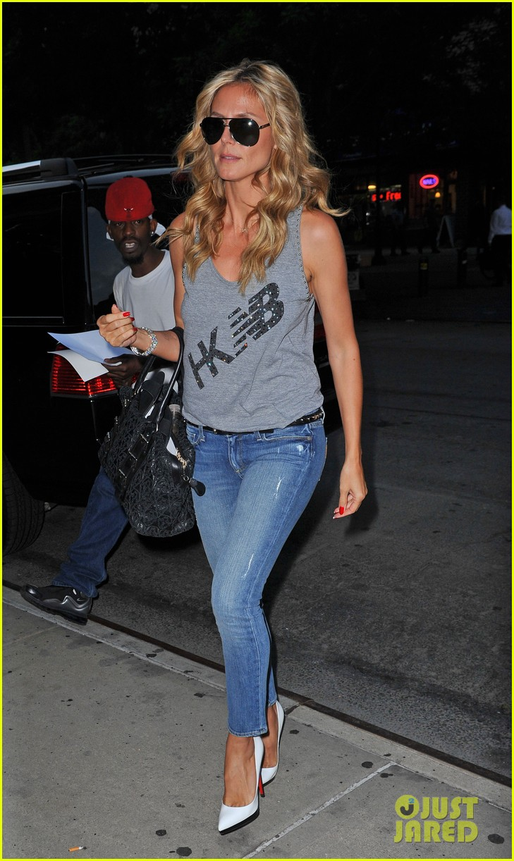 heidi klum takes new york city by storm 05