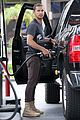 shia labeouf gas tank pumper before grocery run with mia goth 15