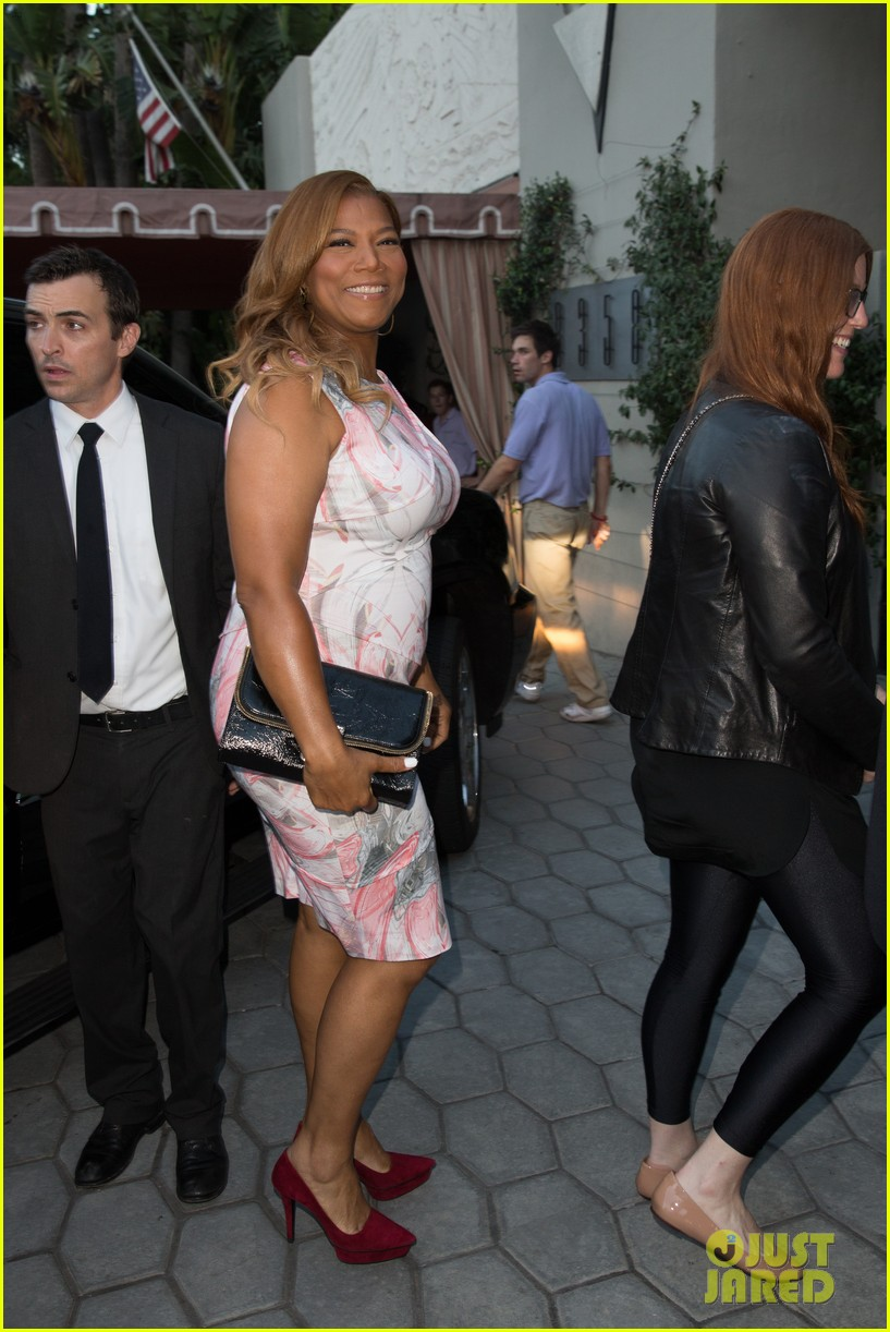 queen latifah promotes talk show at sunset tower 04