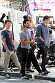 taylor lautner sweats it out for tracers in queens 07