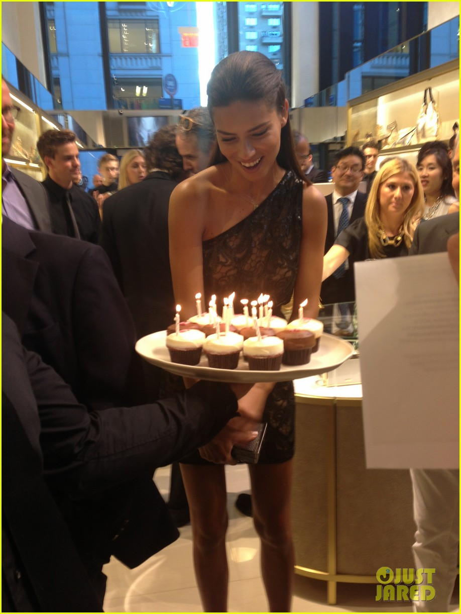 adriana lima birthday at vc store opening 06
