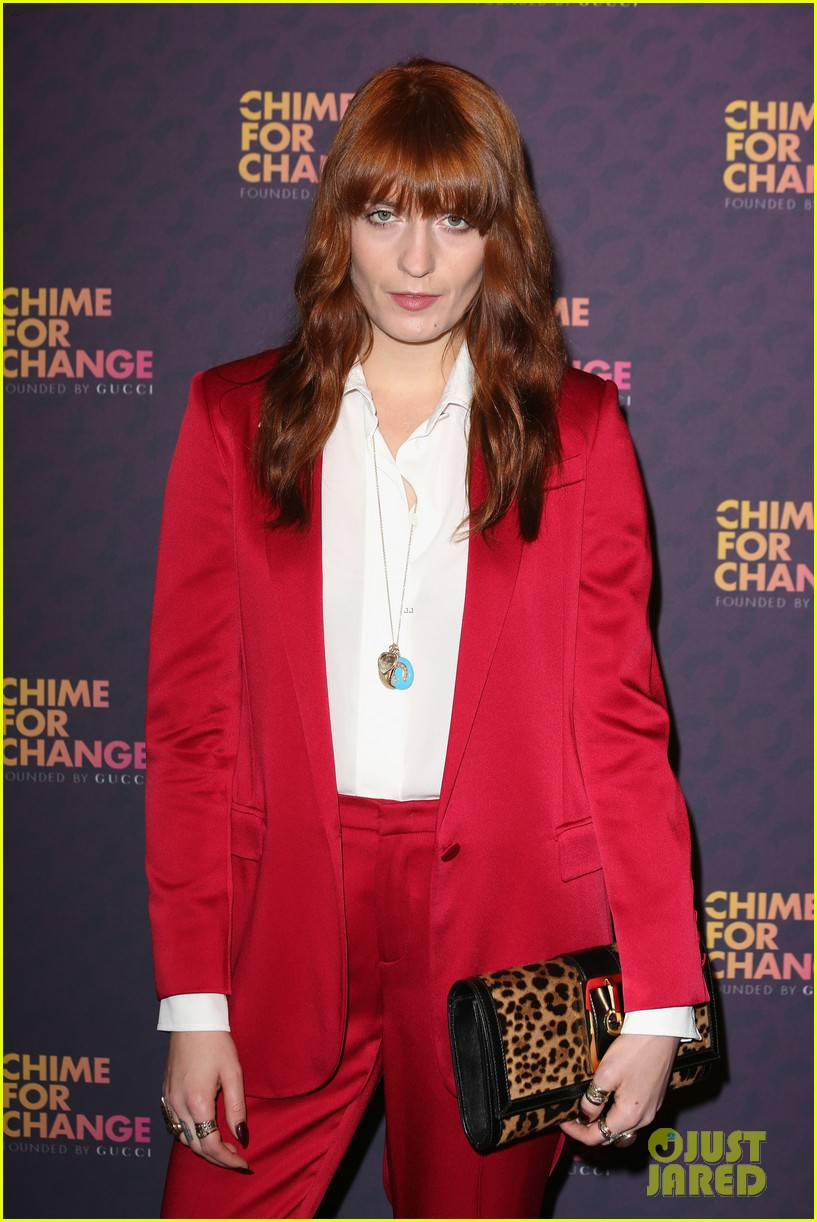 blake lively florence welch chime for change concert 17