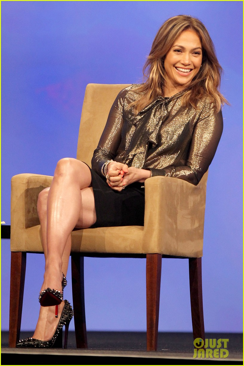 jennifer lopez visits the cable show 2013 in dc 012889869