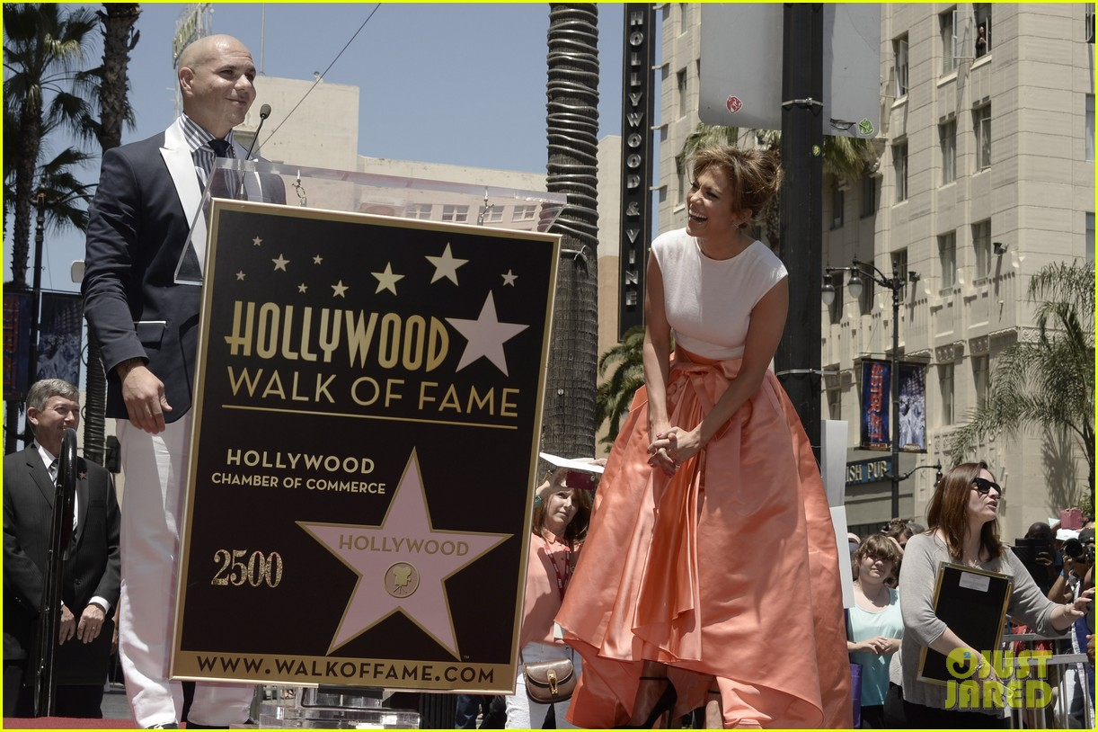 jennifer lopez receives star on hollywood walk of fame 12