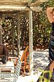 shirtless kellan lutz op summer 2013 images with katrina bowden 12