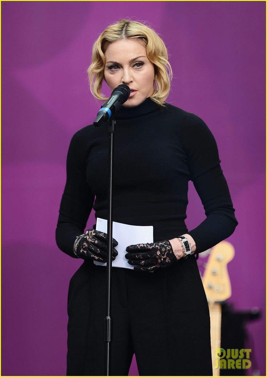 madonna speech at chime for change concert watch now 11