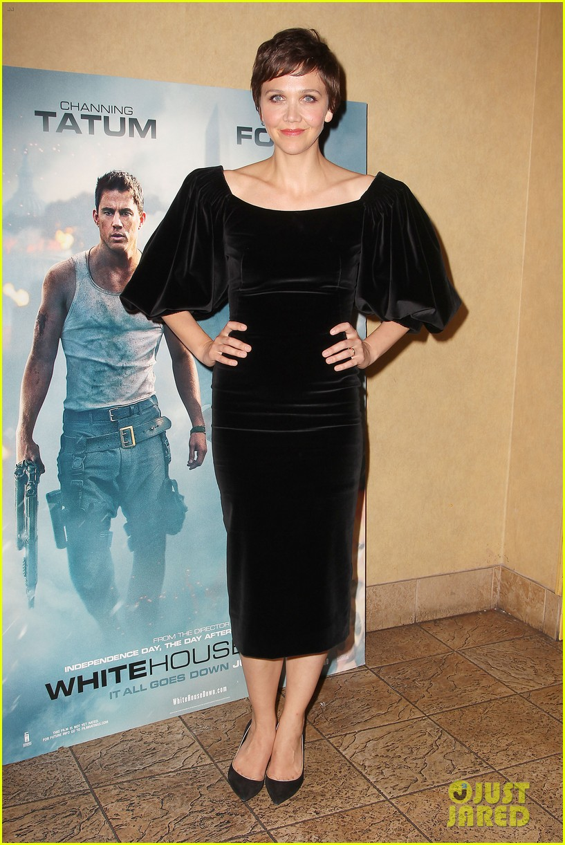 maggie gyllenhaal just jared white house down screening 012899188
