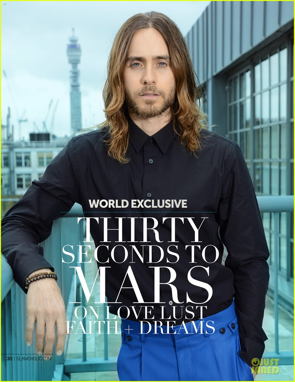 thirty seconds to mars covers glamoholic magazine june 2013 01