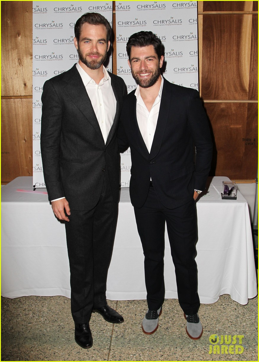 max greenfield colin farrell chrysalis butterfly ball 2013 with chris pine 08