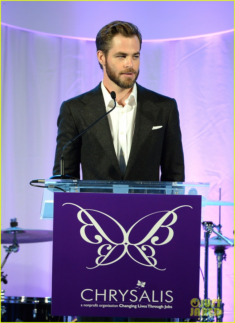 max greenfield colin farrell chrysalis butterfly ball 2013 with chris pine 10
