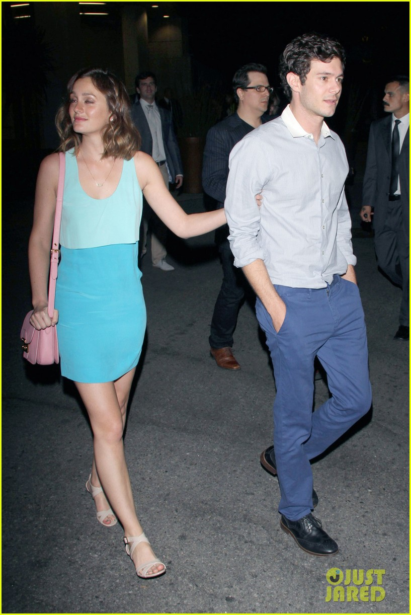 leighton meester brickyard couple after some girls premiere 02