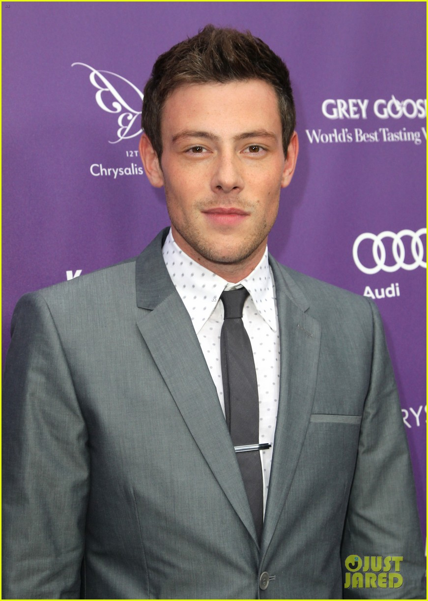 lea michele cory monteith chrysalis butterfly ball 042887341
