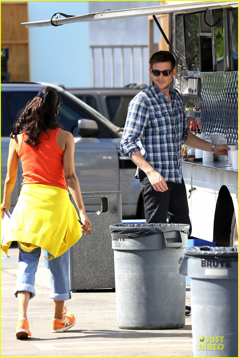 lea michele cory monteith glee season 5 photo shoot 182900192