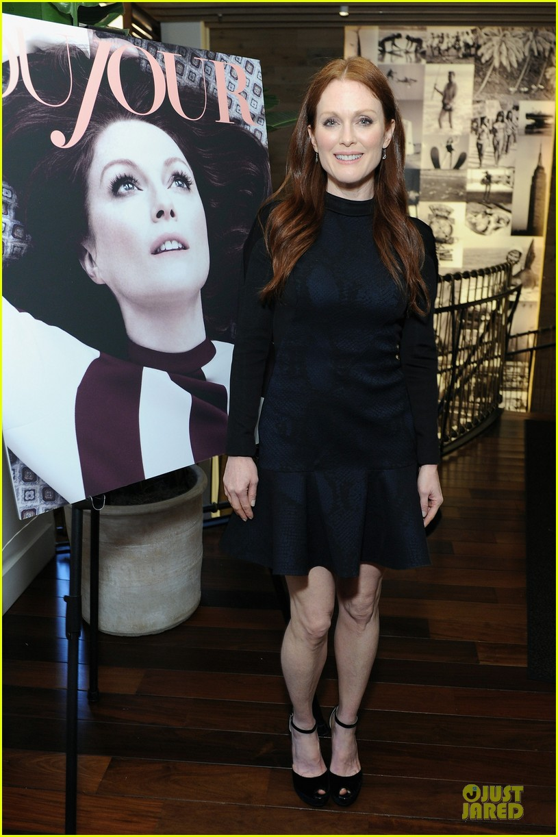 julianne moore dujour magazine summer issue cover party 01