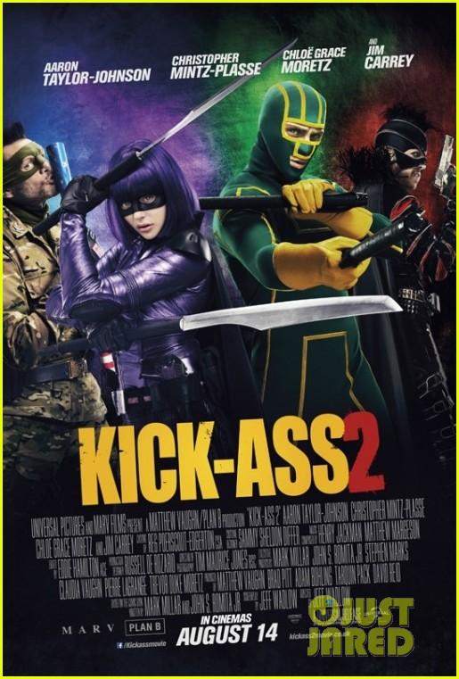 chloe moretz new kick ass 2 poster 02