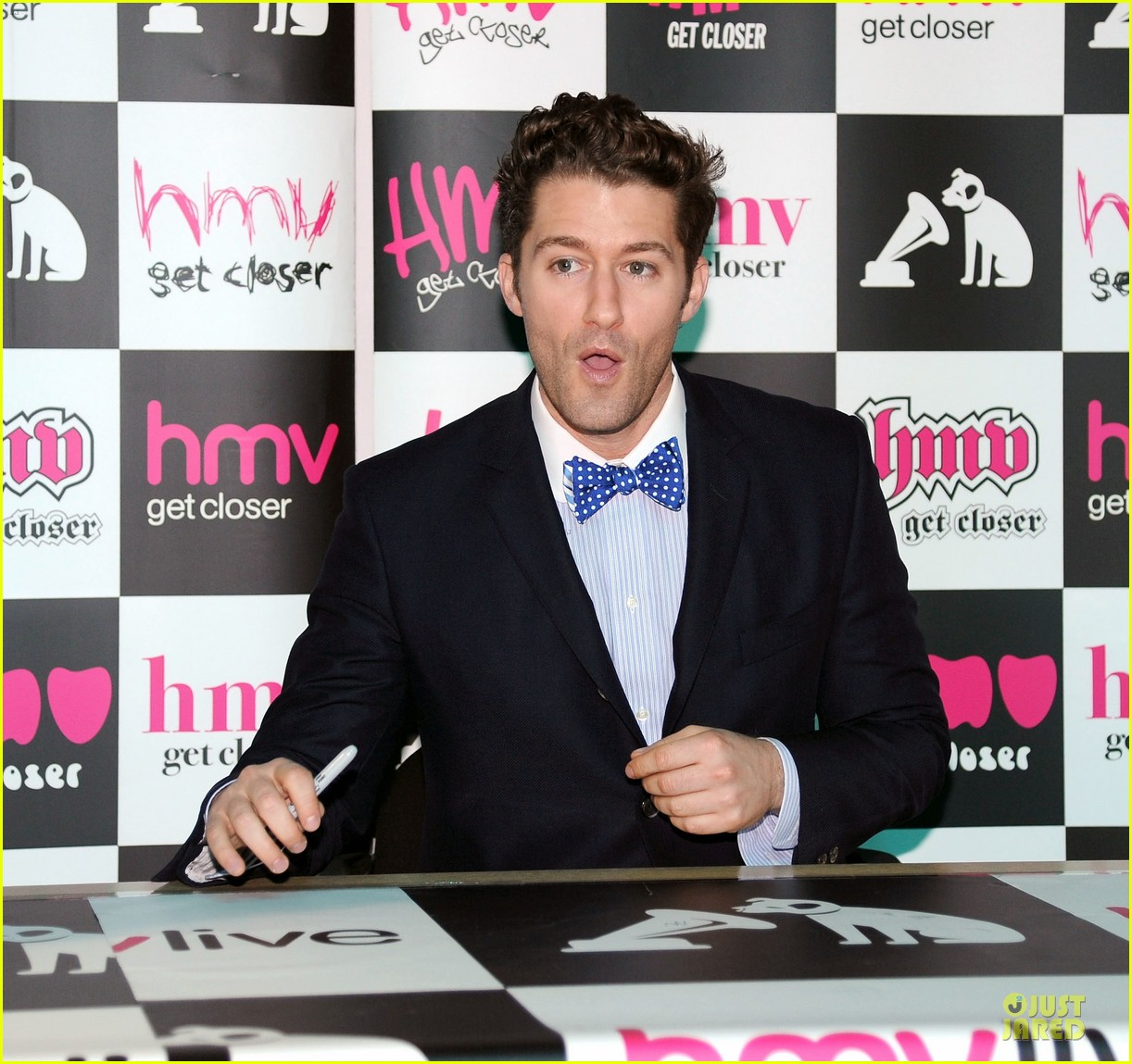 matthew morrison where it all began album signing 09