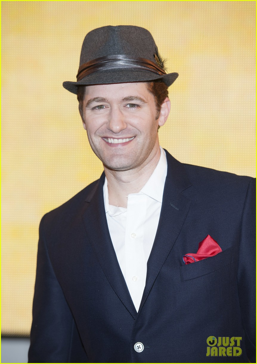 matthew morrison where it all began album promotion 122895828