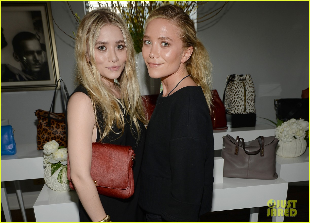 mary kate ashley olsen instyle elizabeth james handbag launch 042894968