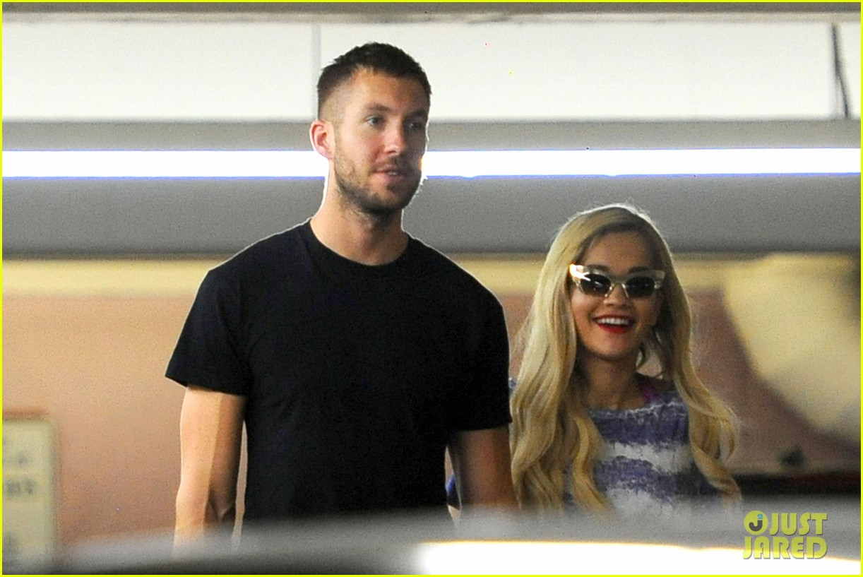 rita ora calvin harris cuddle up at whole foods 142895650