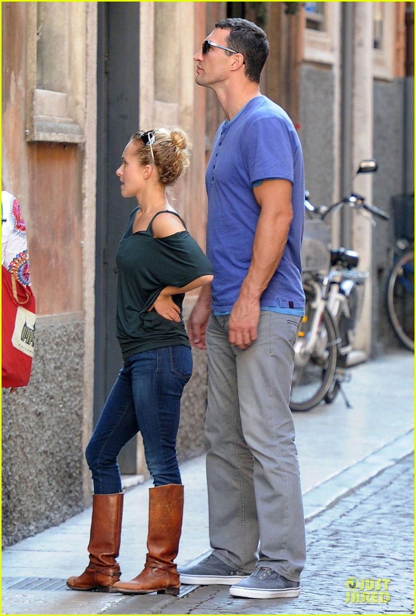 Wladimir Klitschko couple