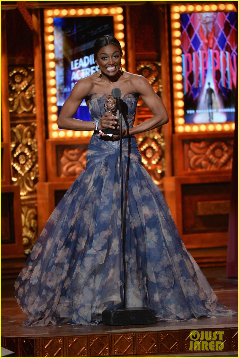 patina miller pippin tonys performance 2013 video 13