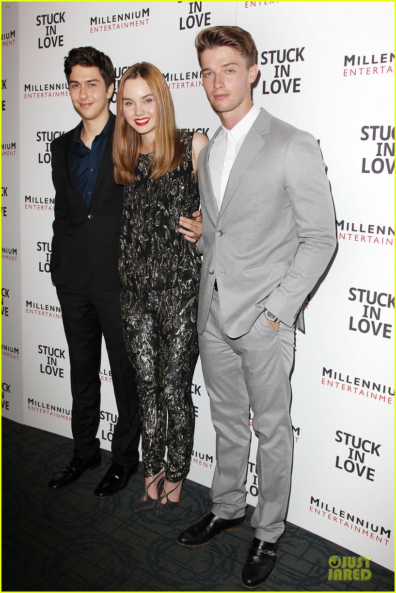patrick schwarzenegger stuck in love nyc screening 01