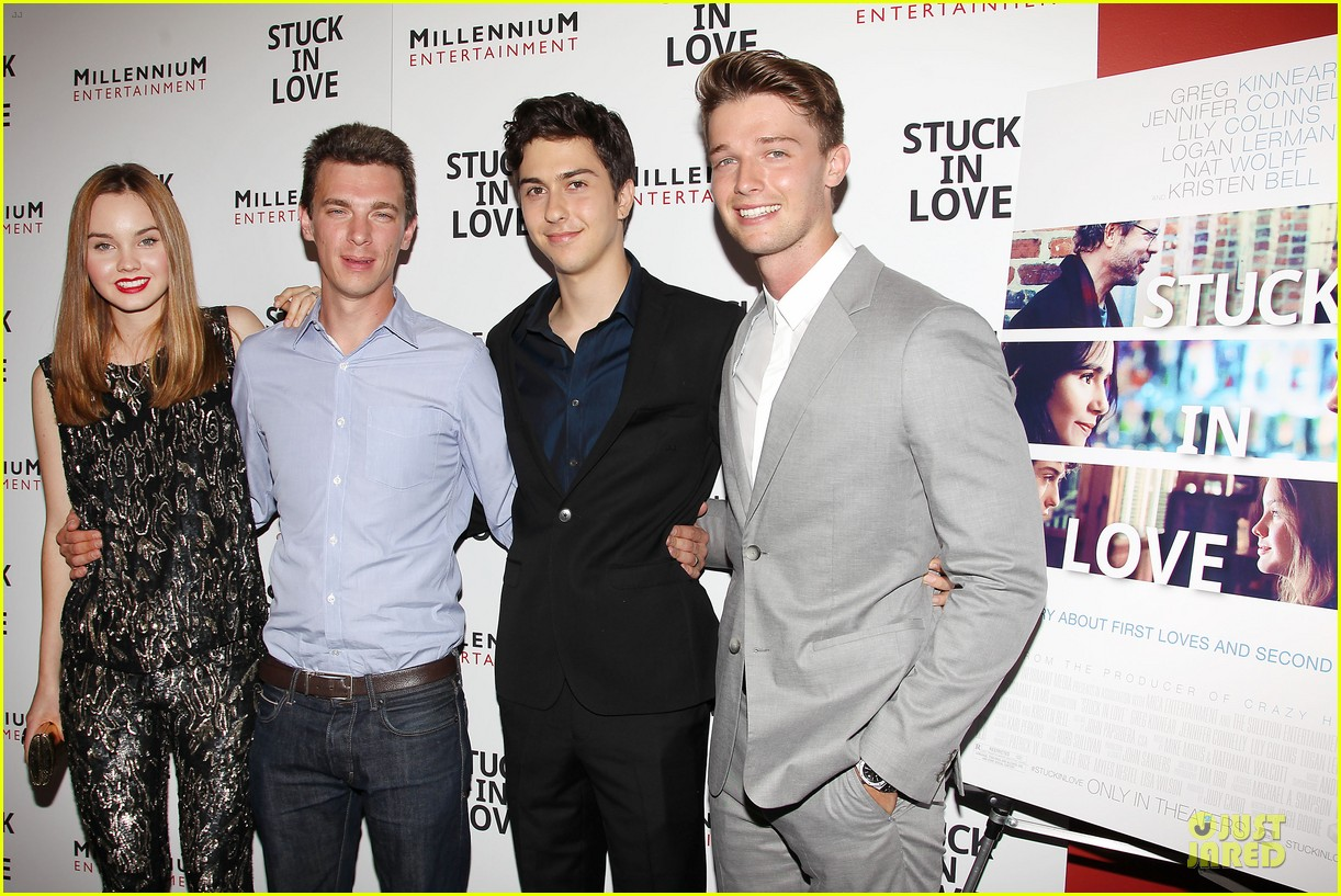 patrick schwarzenegger stuck in love nyc screening 042899100