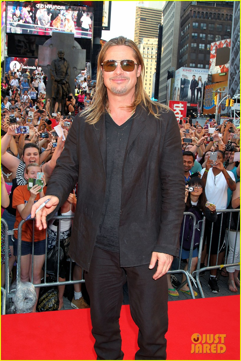 brad pitt world war z new york premiere 17