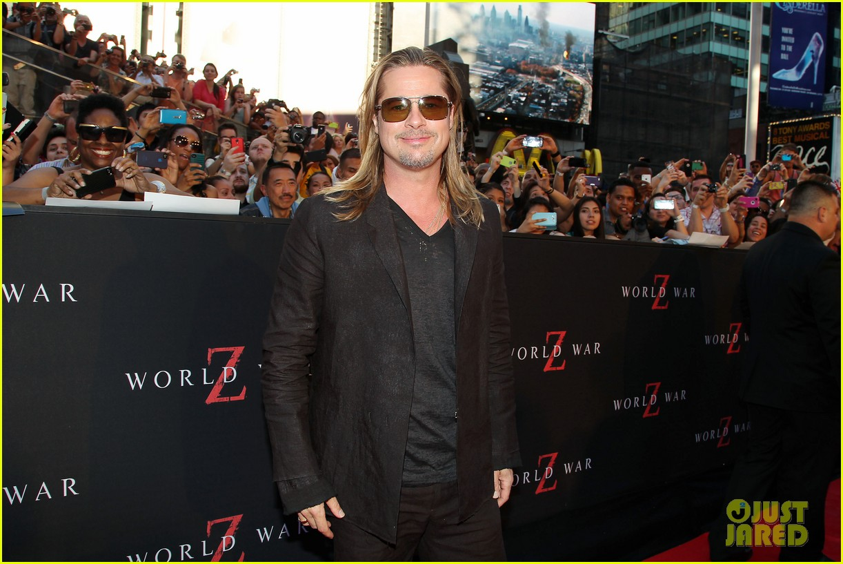 brad pitt world war z new york premiere 192893161