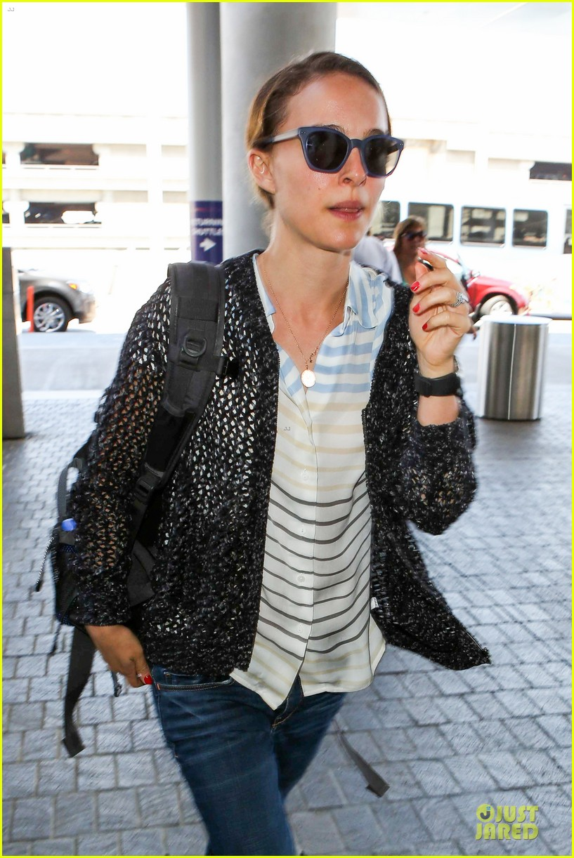 natalie portman benjamin millepied lax departure after dance project gala 072896398