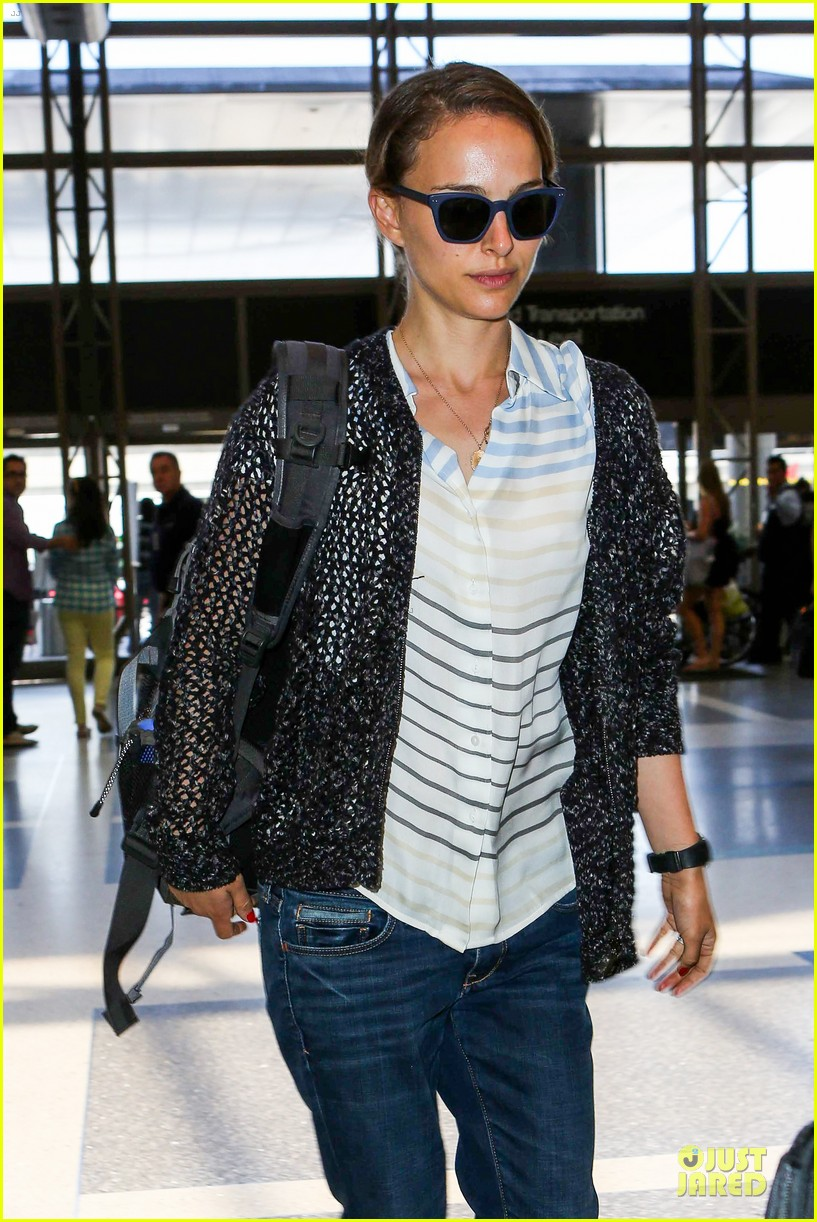 natalie portman benjamin millepied lax departure after dance project gala 102896401