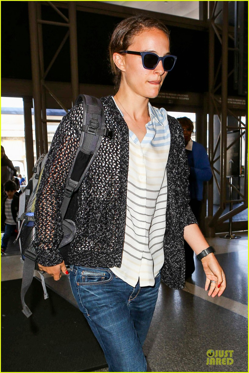 natalie portman benjamin millepied lax departure after dance project gala 112896402