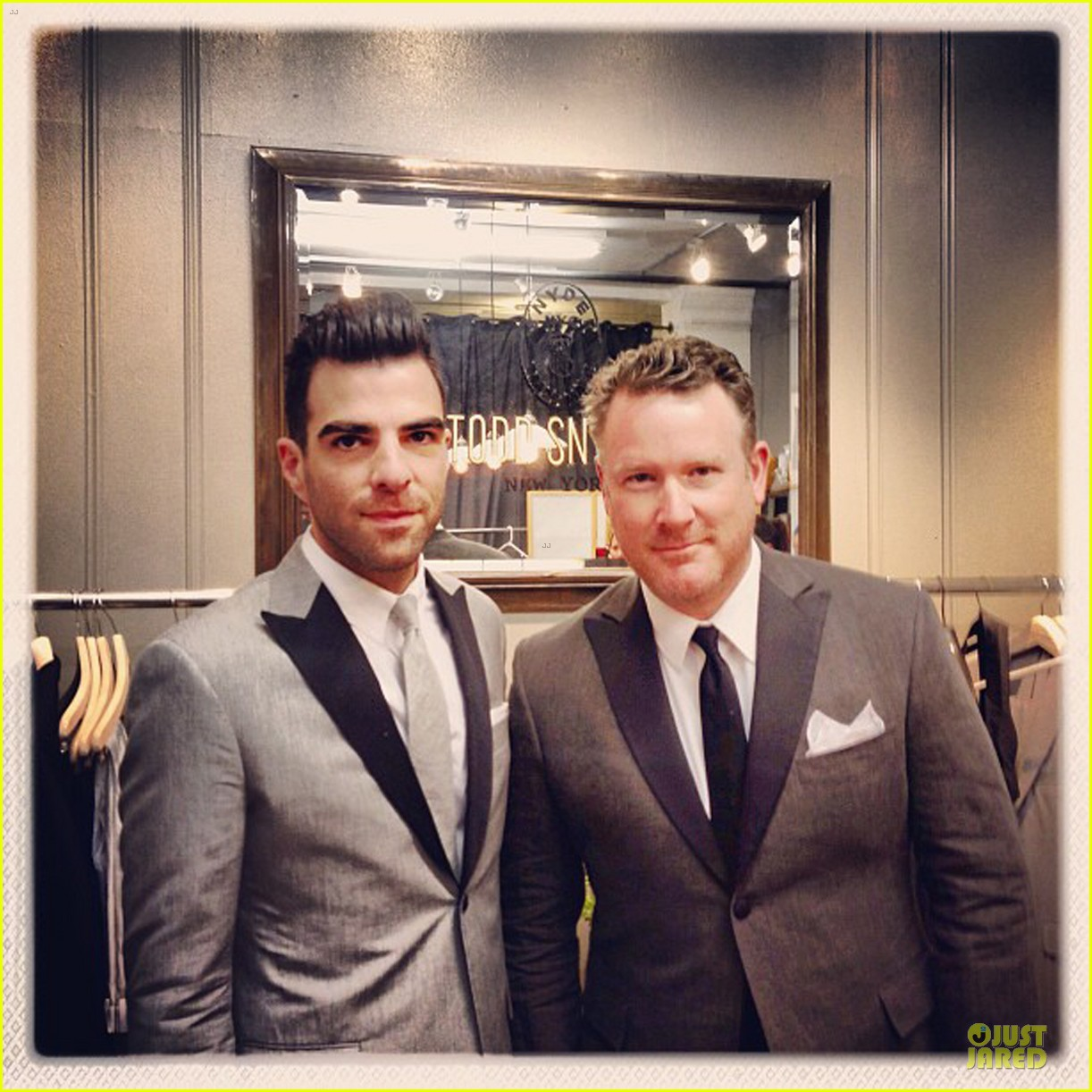 zachary quinto ethan hawke cfda fashion awards 2013 red carpet 02