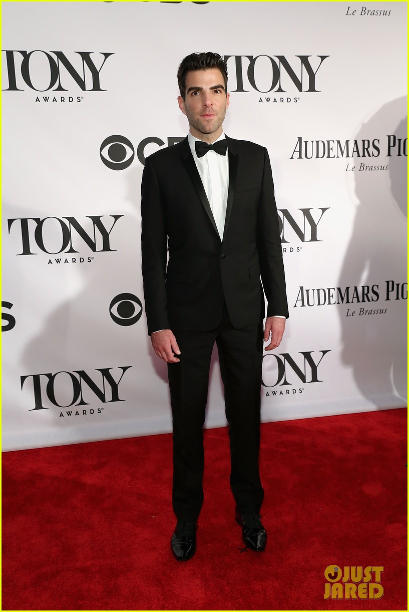 zachary quinto tony awards 2013 red carpet 02