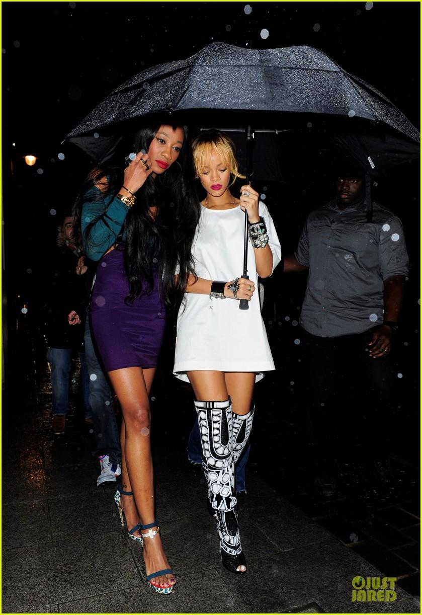 rihanna rainy cuckoo nightclub with melissa forde 03