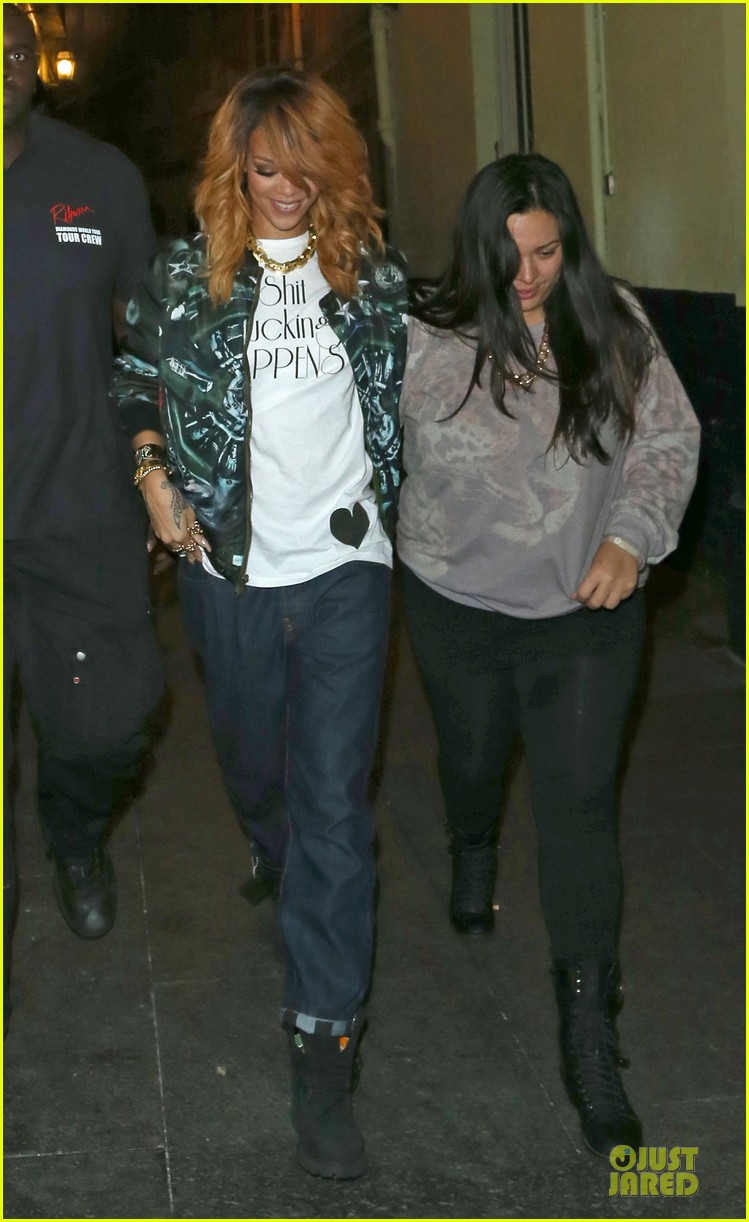 rihanna lillie bordello nightclub with jennifer rosales 012896101