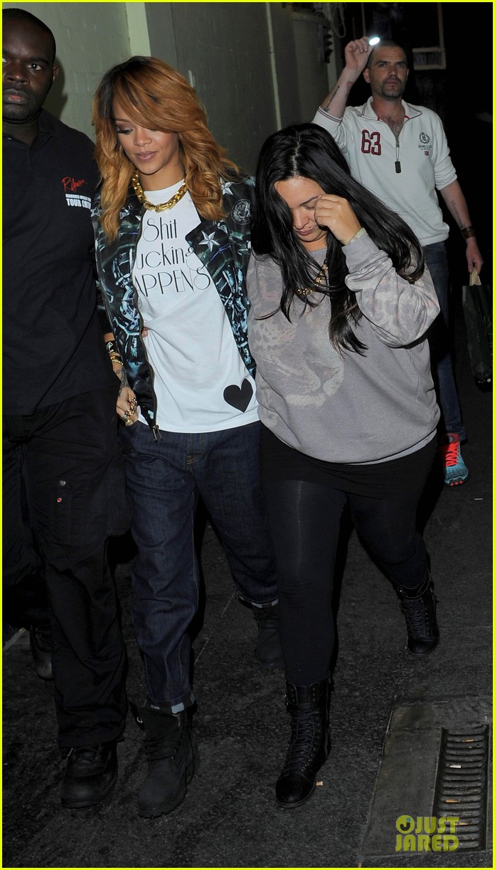 rihanna lillie bordello nightclub with jennifer rosales 03