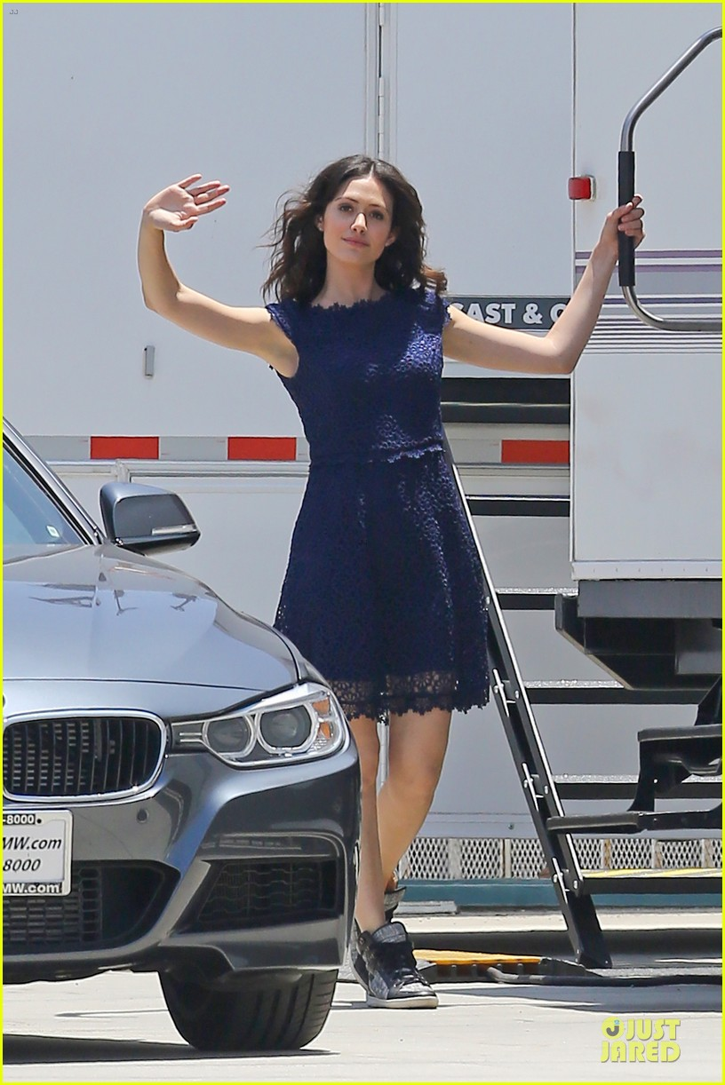emmy rossum justin long makes me laugh too much on comet 162893924