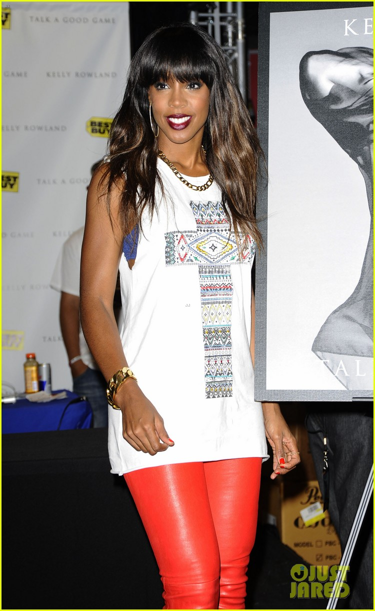 kelly rowland talk a good game nyc album signing 092894186